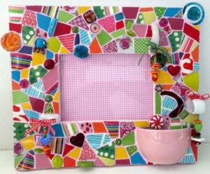 Mosaik Rahmen bunt Tina_1024 2